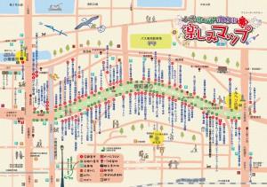堺町通り商店街MAP